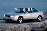 Κοτσαδόροι Audi Audi Audi A4 Audi A4 94-9/01 Saloon